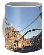 Hoover Dam Bypass Highway Under Construction Coffee Mug