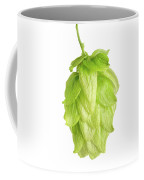 Hop Flower Seed Cone On White Background Coffee Mug