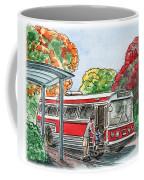 Hop On A Bus Coffee Mug