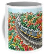 Hop On A Train Coffee Mug