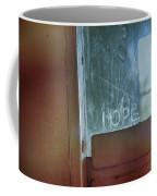 Hope In Prison Door Coffee Mug