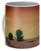 Hope Road With Black Birds Coffee Mug