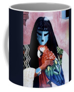 Hopi Dances And The Red Macaw Coffee Mug