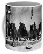 Hopi Grinding Grain, C1906 Coffee Mug