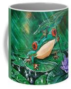 Hoppin' In The Rain Coffee Mug