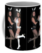 Hoppy Easter - Gently Cross Your Eyes And Focus On The Middle Image Coffee Mug