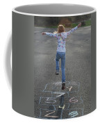 Hopscotch Queen Coffee Mug