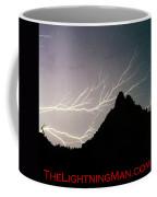 Horizonal Lightning Poster Coffee Mug