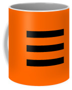 Horizontal Black Inside Stripes 03-p0169 Coffee Mug
