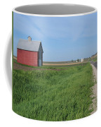 Horizontal Red Crib Road Coffee Mug