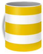 Horizontal White Inside Stripes 05-p0169 Coffee Mug