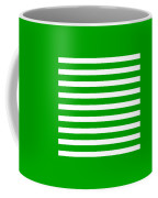Horizontal White Inside Stripes 09-p0169 Coffee Mug