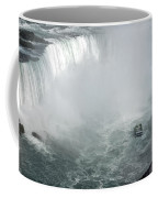 Hornblower Ferry At Horseshoe Falls Coffee Mug