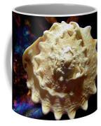 Horned Helmet Shell Top Logarithmic Spiral Coffee Mug