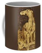 Horse Above Stones Coffee Mug