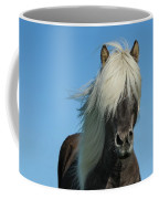 Horse And Blue Sky Coffee Mug