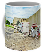 Horse And Buggie Coffee Mug