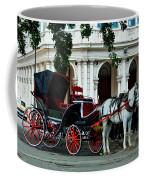 Horse And Buggy In Havana Coffee Mug