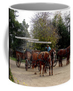 Horse And Carriage Coffee Mug