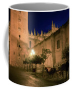 Horse And Carriage Seville Spain Coffee Mug
