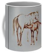 Mare And Foal Coffee Mug