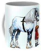 Horse And Groom Coffee Mug