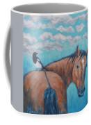 Horse And Magpie Coffee Mug
