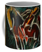 Horse And Man Coffee Mug
