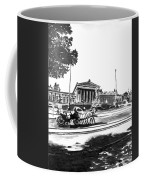 Horse And Parliament Coffee Mug