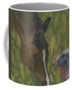 Horse And Turkey Coffee Mug