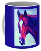 Horse Art Horse Portrait Maduro Psychedelic Coffee Mug