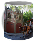 Horse Carriage At Kings Street Coffee Mug