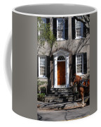 Horse Carriage In Charleston Coffee Mug