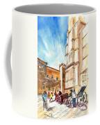 Horse Carriages In Palma De Mallorca Coffee Mug