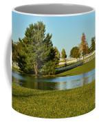 Horse Farm Pond Coffee Mug