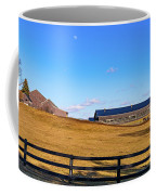 Horse Farm - Rising Moon Coffee Mug