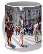 Horse Guard At Parade Coffee Mug