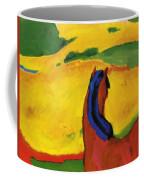 Horse In A Landscape 1910 Coffee Mug