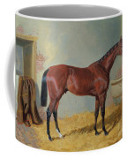Horse In A Stable Coffee Mug by John Frederick Herring Snr