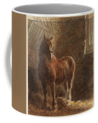 Horse In A Stable Coffee Mug