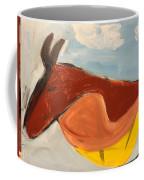 Horse In Contemplation Coffee Mug