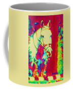 Horse Painting Jumper No Faults Psychedelic Coffee Mug
