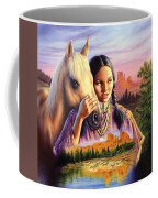 Horse Maiden Coffee Mug