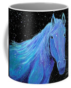 Horse-midnight Snow Coffee Mug