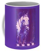 Horse Painting Jumper No Faults Lavender Coffee Mug