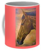 horse portraint PRINCETON pastel colors Coffee Mug