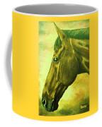 horse portrait PRINCETON soft colors Coffee Mug