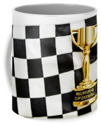 Horse Races Trophy. Melbourne Cup Win Coffee Mug