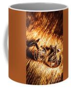 Horse Racing Cuff Links Coffee Mug