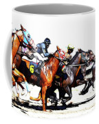 Horse Racing Dreams 3 Coffee Mug